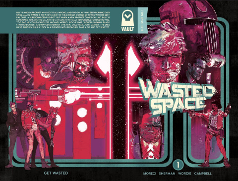 Wasted Space #1 (3rd Printing)