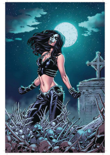 Grimm Fairy Tales: Day of the Dead #6 (Silva Cover)