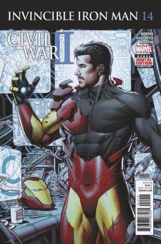 Invincible Iron Man #14 (2nd Printing Keown Cover)