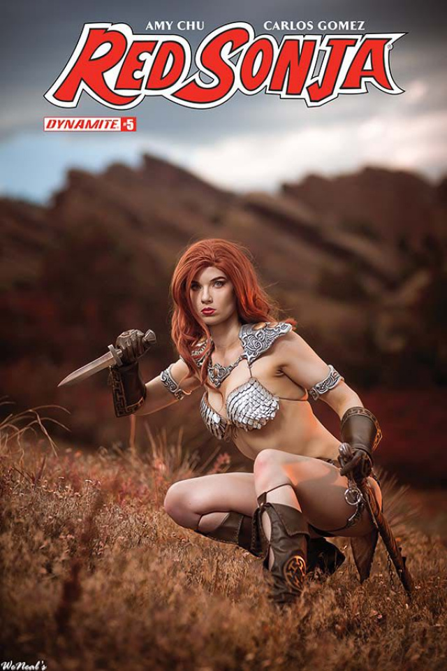 Red Sonja #5 (Cosplay Cover)