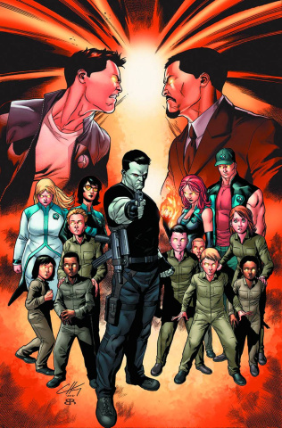 Harbinger Wars #2 (Henry Cover)