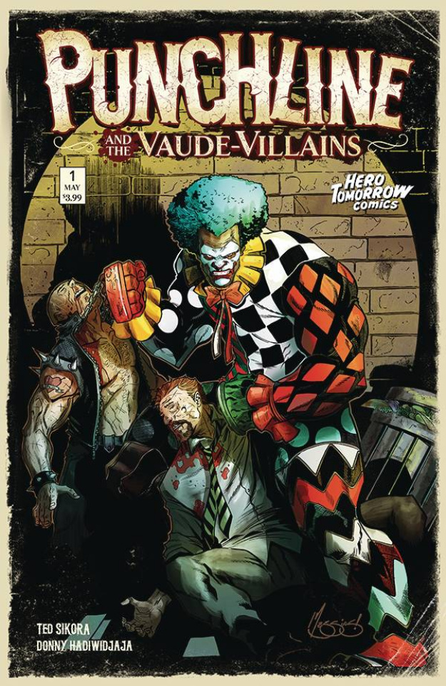 Punchline and the Vaude-Villains #1 (Messias 5 Copy Cover)