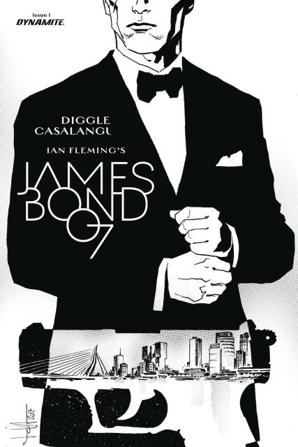 James Bond: Kill Chain #1 (20 Copy B&W Cover)