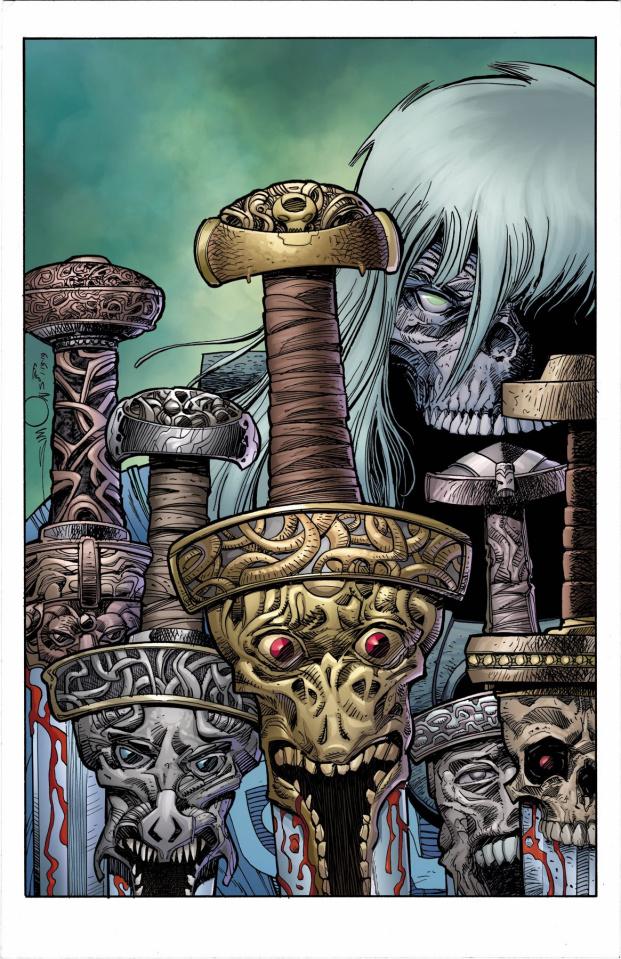 Ragnarök: The Breaking of Helheim #3 (Simonson Cover)