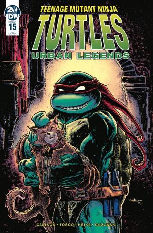 Teenage Mutant Ninja Turtles: Urban Legends #15 (10 Copy Eastman Cover)