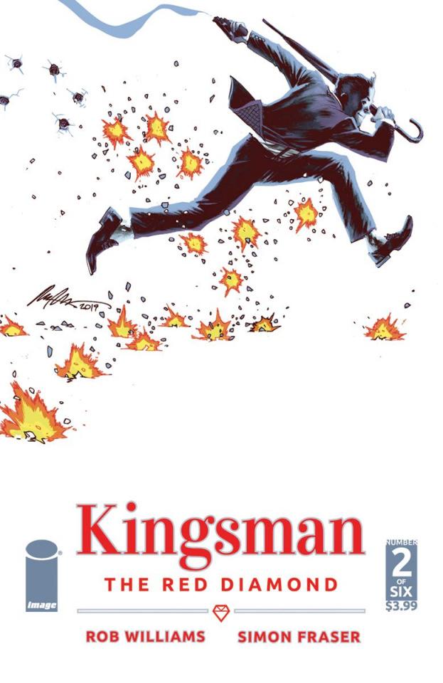 Kingsman: The Red Diamond #2 (Albuquerque Cover)