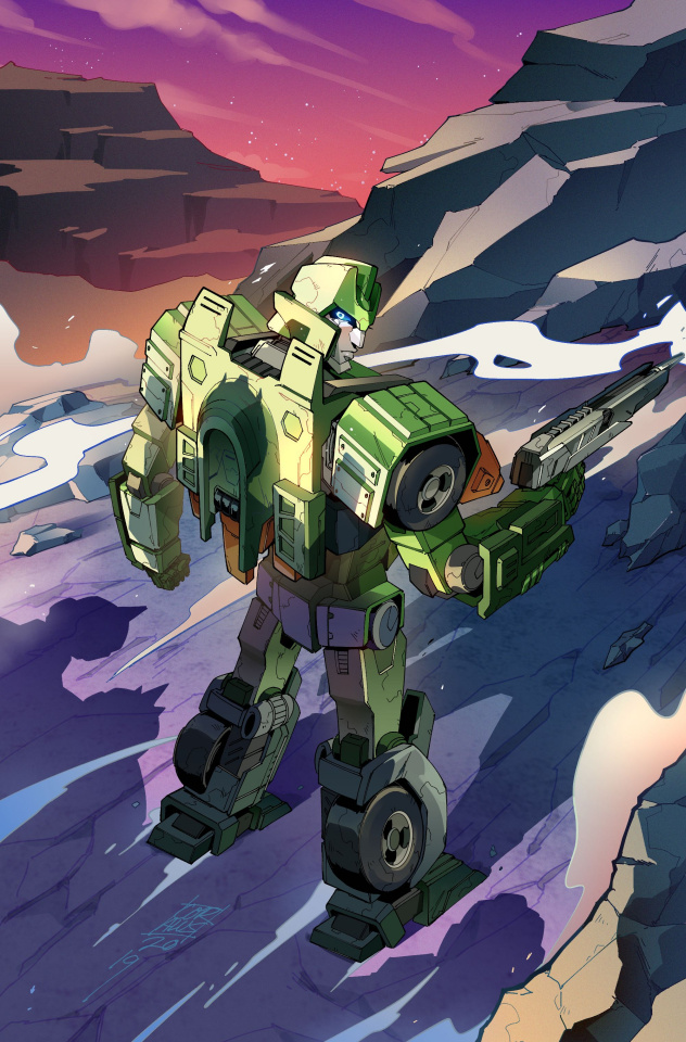 The Transformers #13 (Umi Miyao Cover)