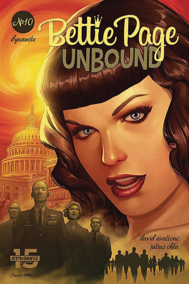 Bettie Page: Unbound #10 (Ohta Cover)