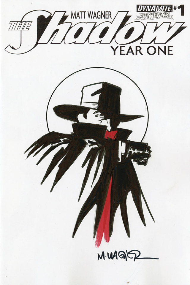The Shadow: Year One #1 (Wagner Cover)