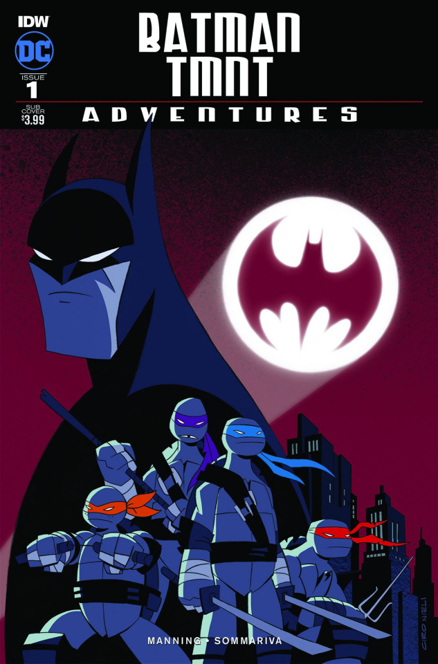Batman / TMNT Adventures #1 (Subscription Cover)