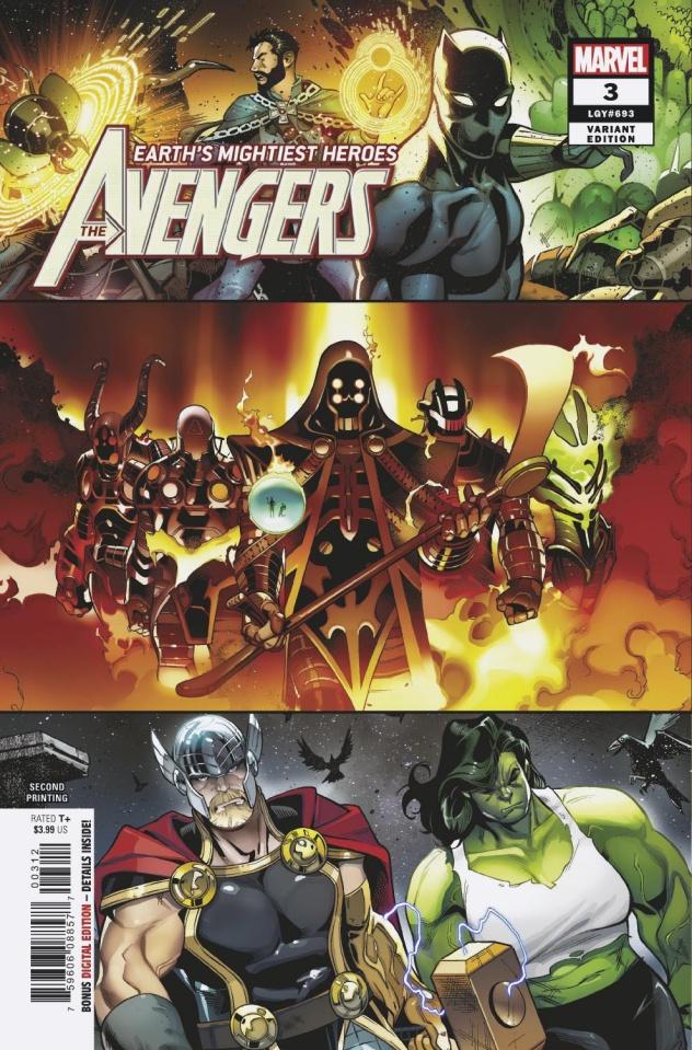 Avengers #3 (Medina 2nd Printing)