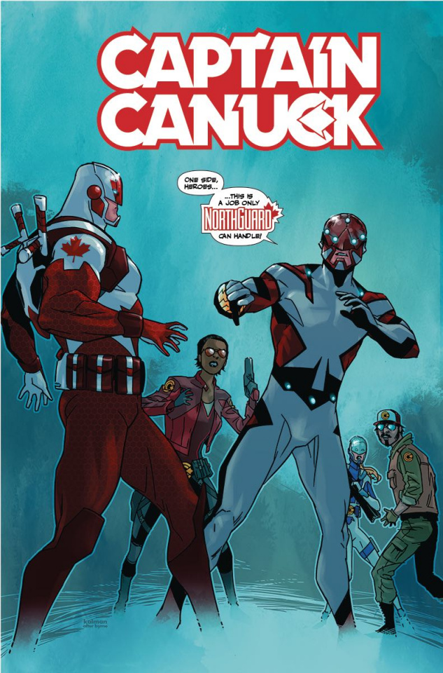 Captain Canuck #10 (Andrasofszky Cover)