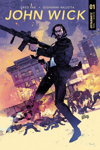 John Wick #1 (Cowan / Sienkiewicz Cover)