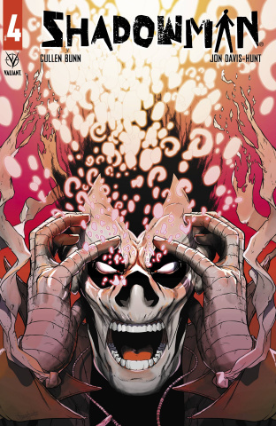 Shadowman #4 (Davis-Hunt Cover)