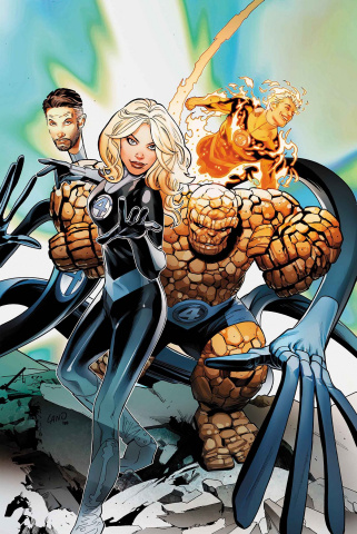 Fantastic Four: Prodigal Sun #1 (Land Cover)