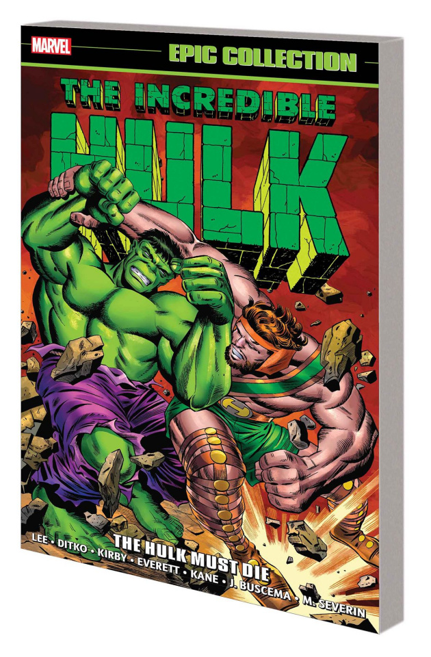 The Incredible Hulk Epic Collection: The Hulk Must Die