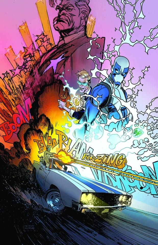 Quantum & Woody #5 (Robinson Cover)