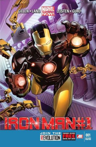 Iron Man #1 (2nd Printing)