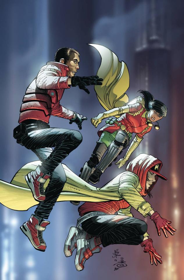 We Are Robin #11 (Romita Cover)