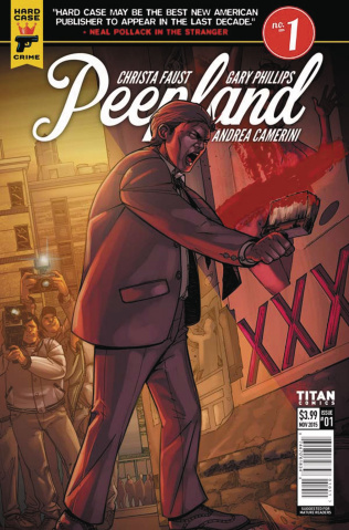 Hard Case Crime: Peepland #1 (Camerini Cover)