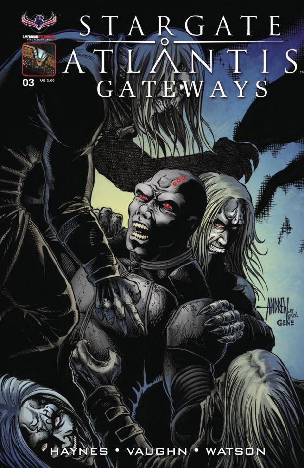 Stargate Atlantis: Gateways #3 (Subscription Cover)