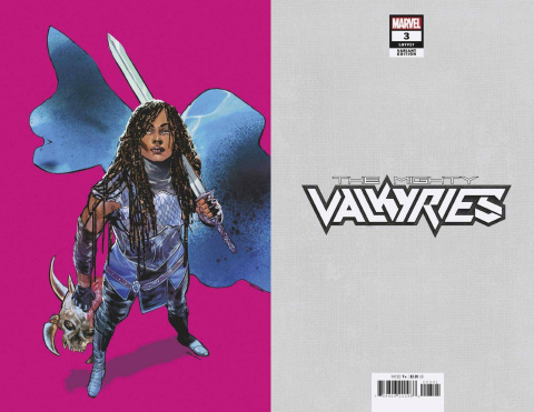 The Mighty Valkyries #3 (Jimenez Pride Month Virgin Cover)