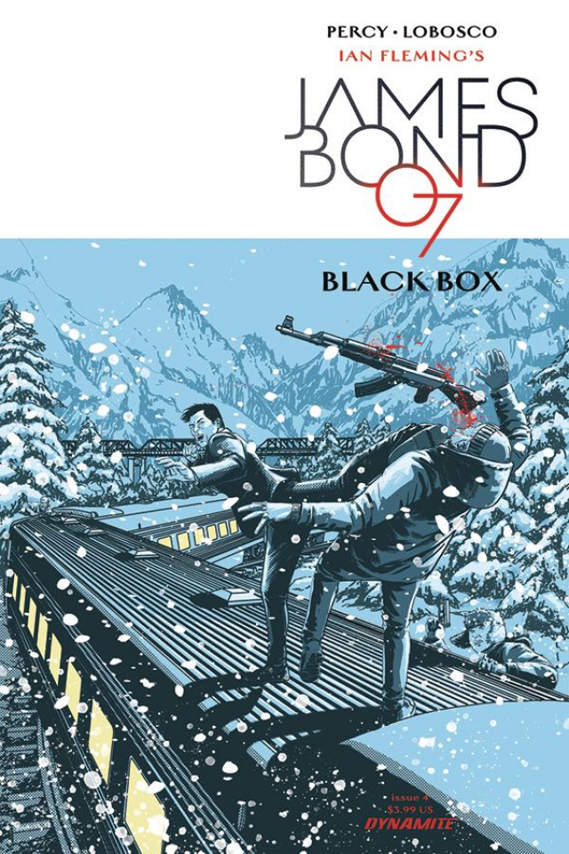 James Bond: Black Box #4 (Masters Cover)