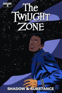 The Twilight Zone: Shadow & Substance #3 (Francavilla Cover)