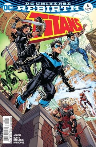 Titans #6 (Variant Cover)