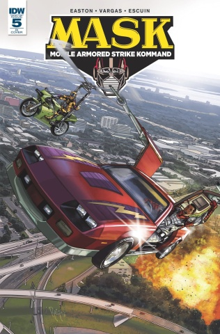 M.A.S.K.: Mobile Armored Strike Kommand #5 (10 Copy Cover)