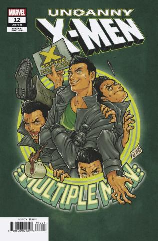 Uncanny X-Men #12 (Superlog Character Cover)