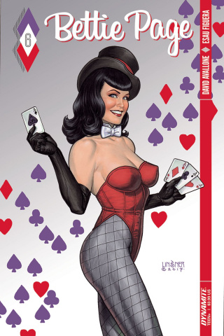 Bettie Page #6 (Linsner Cover)