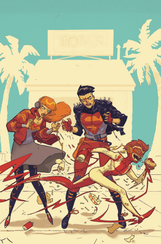 Young Justice #7 (Variant Cover)