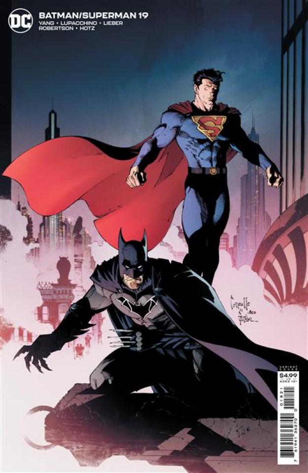 Batman / Superman #19 (Greg Capullo Card Stock Cover)
