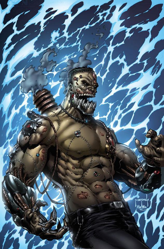 Grimm Fairy Tales: Van Helsing vs. Frankenstein #2 (Metcalf Cover)