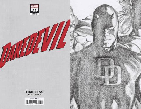 Daredevil #23 (Alex Ross Daredevil Timeless Virgin Sketch Cover)