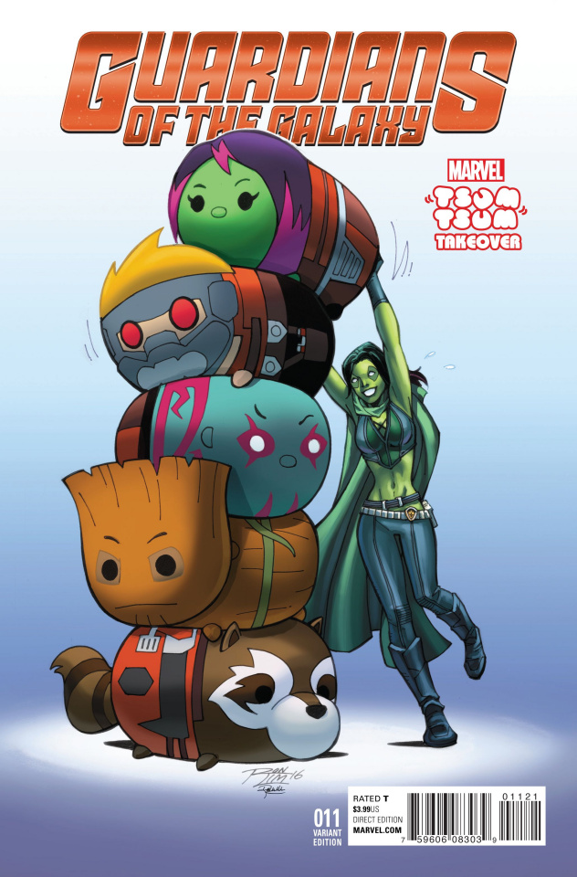 Guardians of the Galaxy #11 (Tsum Tsum Takeover Cover)