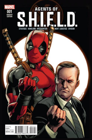 Agents of S.H.I.E.L.D. #1 (Bagley Deadpool Cover)