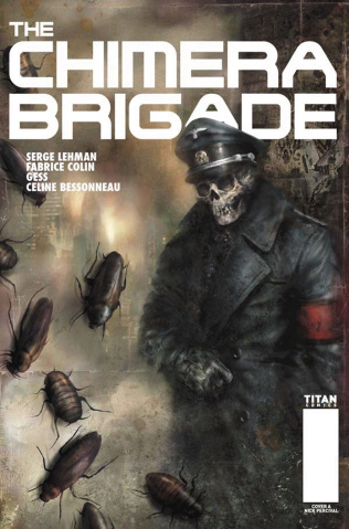 The Chimera Brigade #1 (Percival Cover)