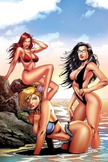 Grimm Fairy Tales Swimsuit Special 2016 (Rei Cover)