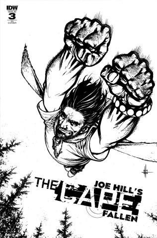 The Cape: Fallen #3 (10 Copy Howard Cover)