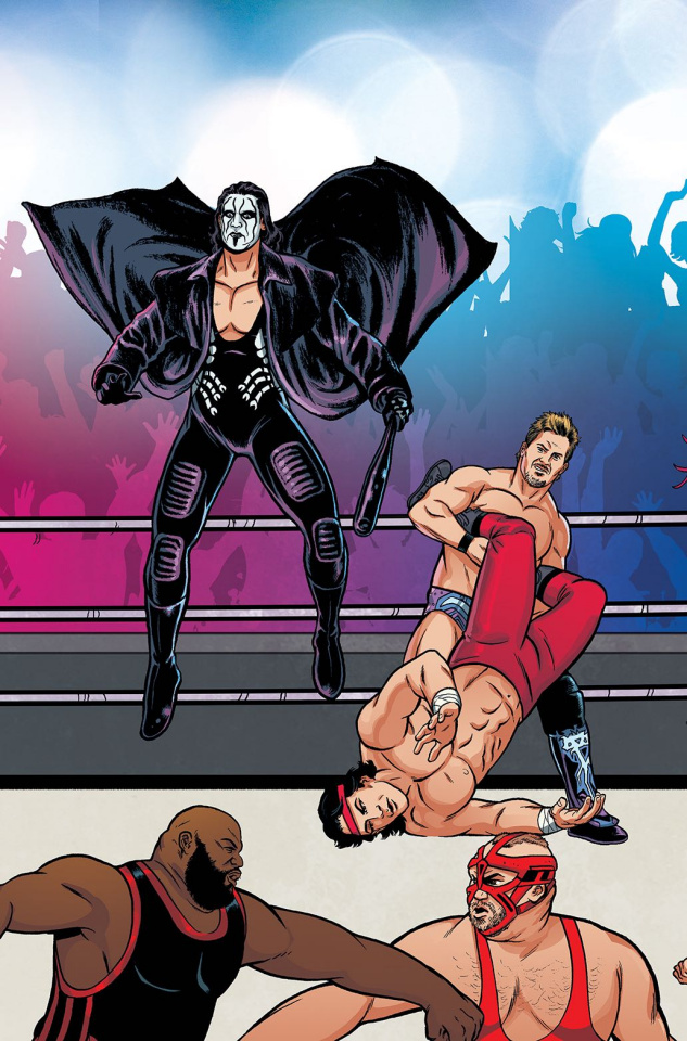 WWE #5 (Unlock Action Figure Cover)