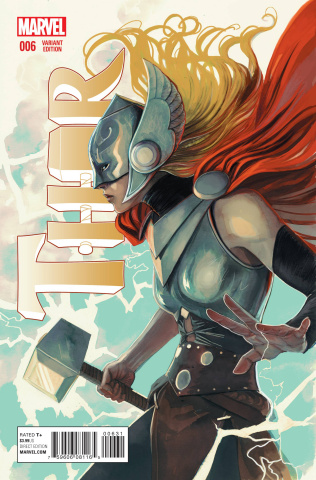 Thor #6 (Women of Marvel Cover)