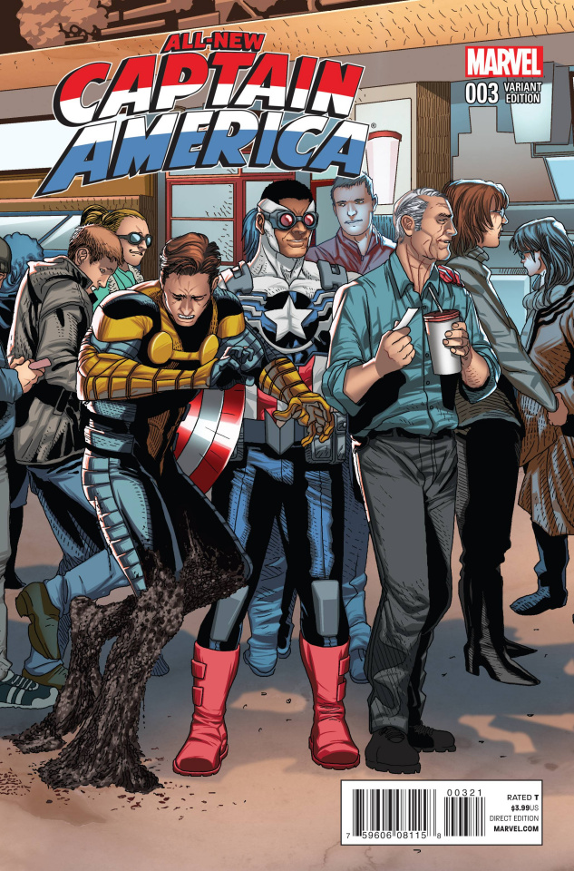 All-New Captain America #3 (Welcome Home Cover)