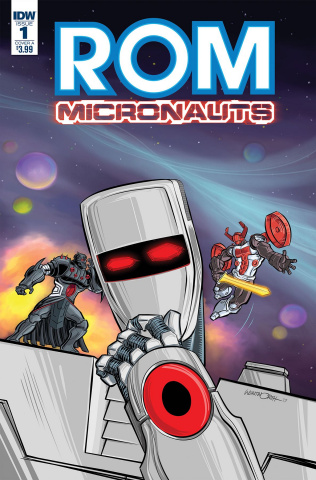 ROM & The Micronauts #1 (Wentworth Cover)