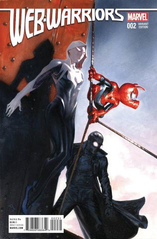 Web Warriors #2 (Dell'otto Cover)