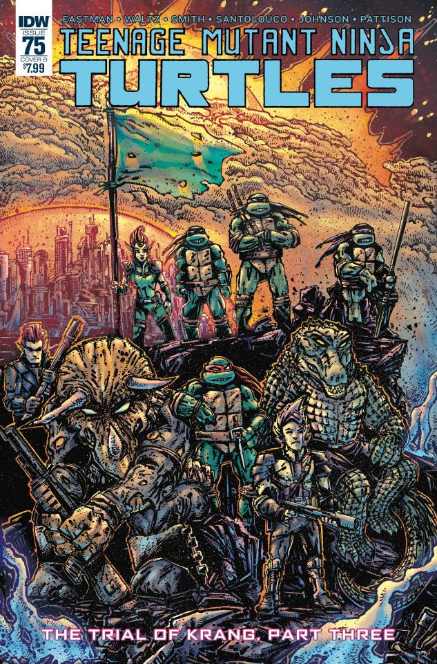 Teenage Mutant Ninja Turtles #75 (Eastman Cover)