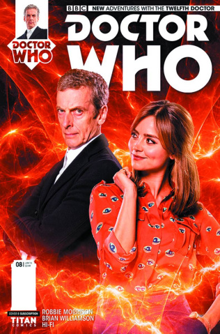Doctor Who: New Adventures with the Twelfth Doctor #8 (Subscription Photo Cover)