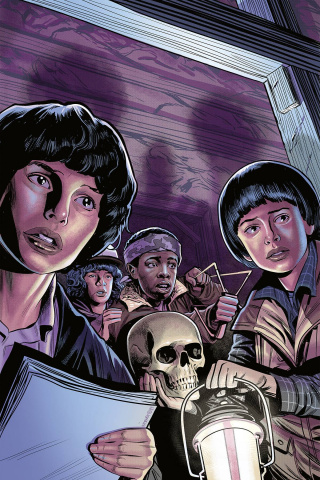 Stranger Things: The Tomb of Ybwen #3 (Dewey Cover)