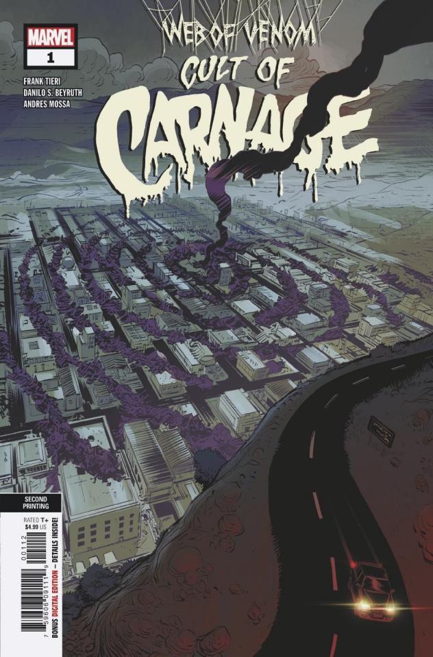 Web of Venom: Cult of Carnage #1 (Beyruth 2nd Printing)